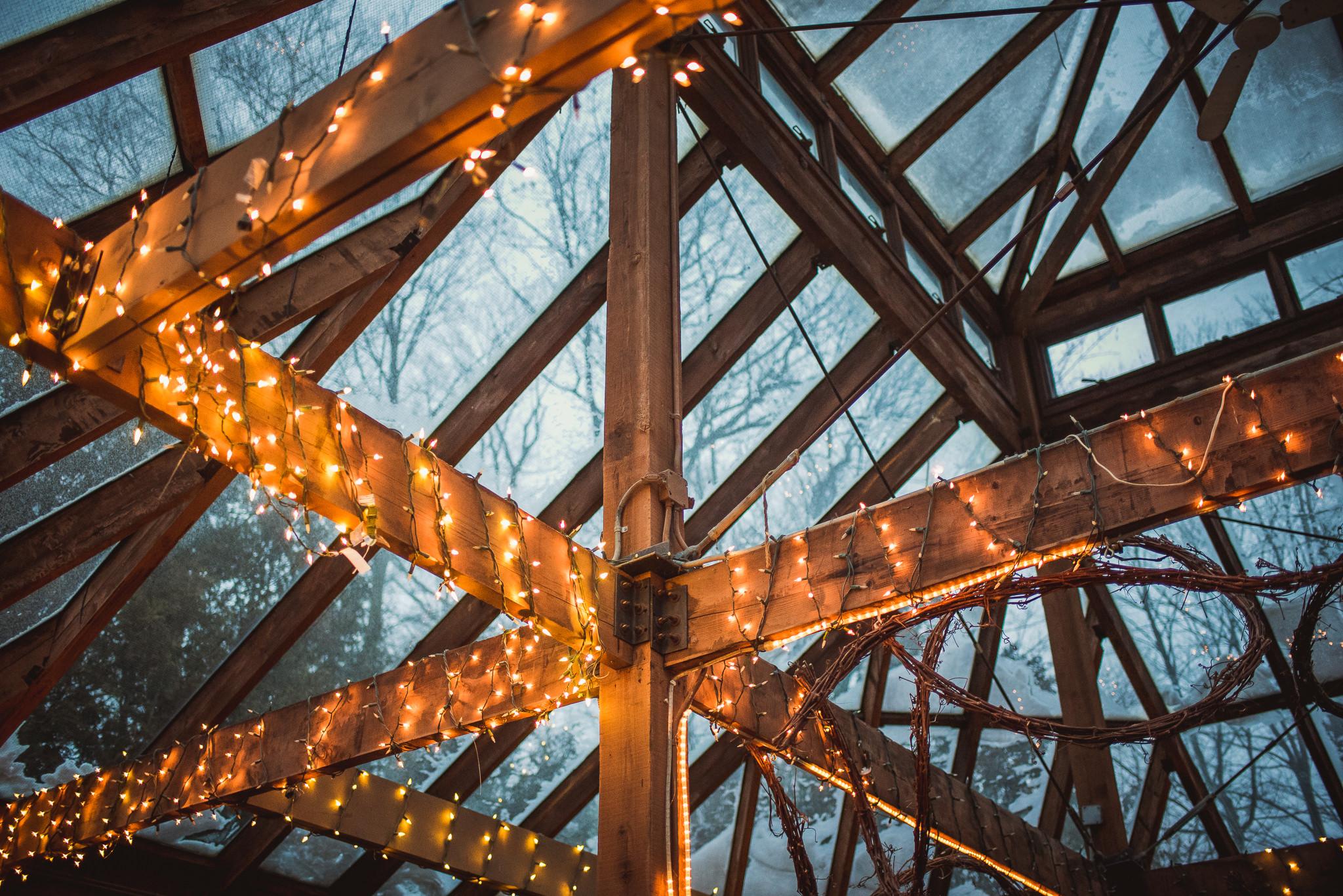 winter wedding kortright center