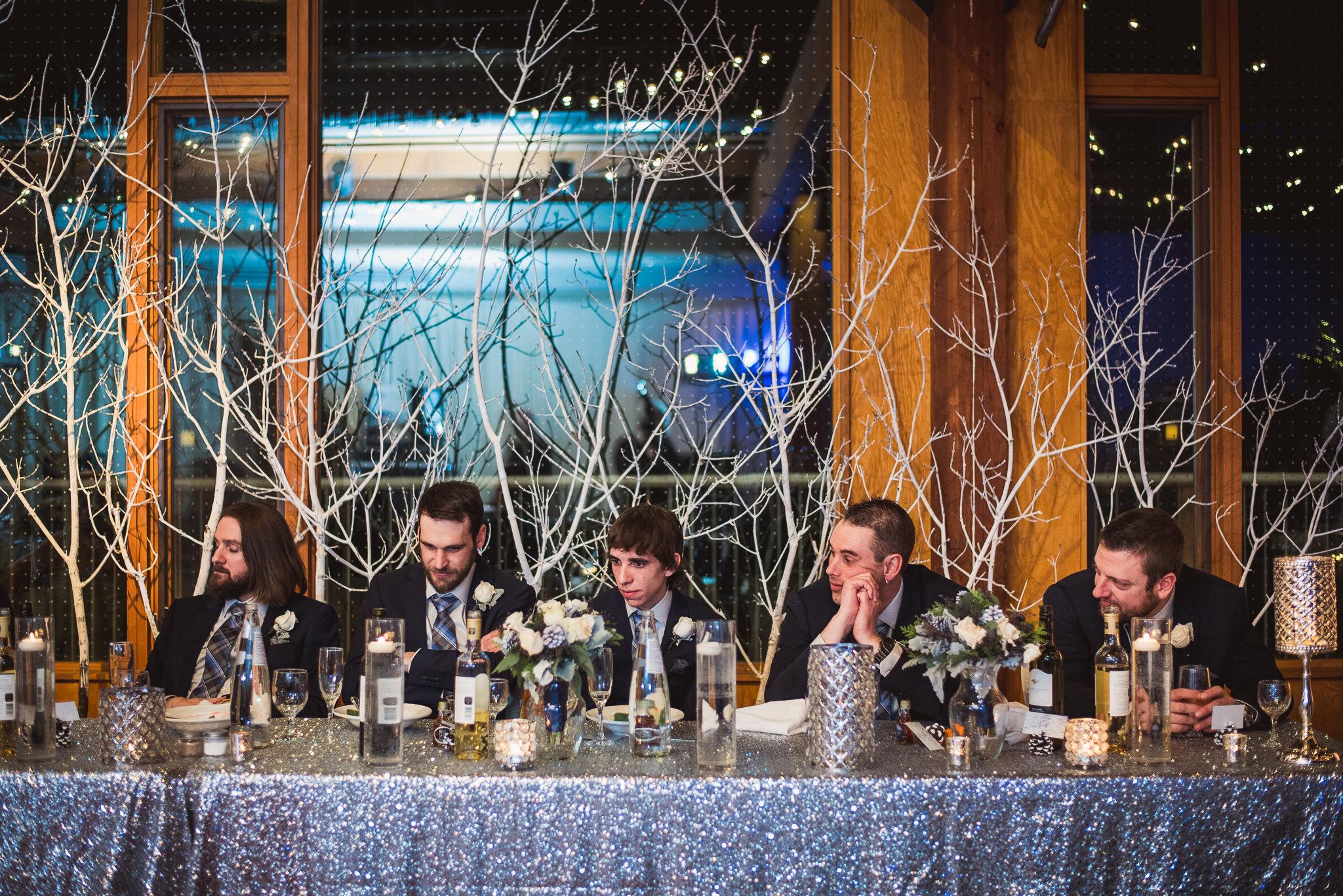 kortright center wedding reception photos