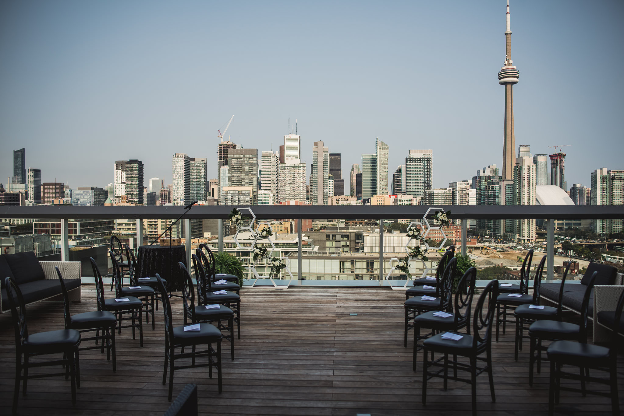 thompson hotel rooftop wedding cost
