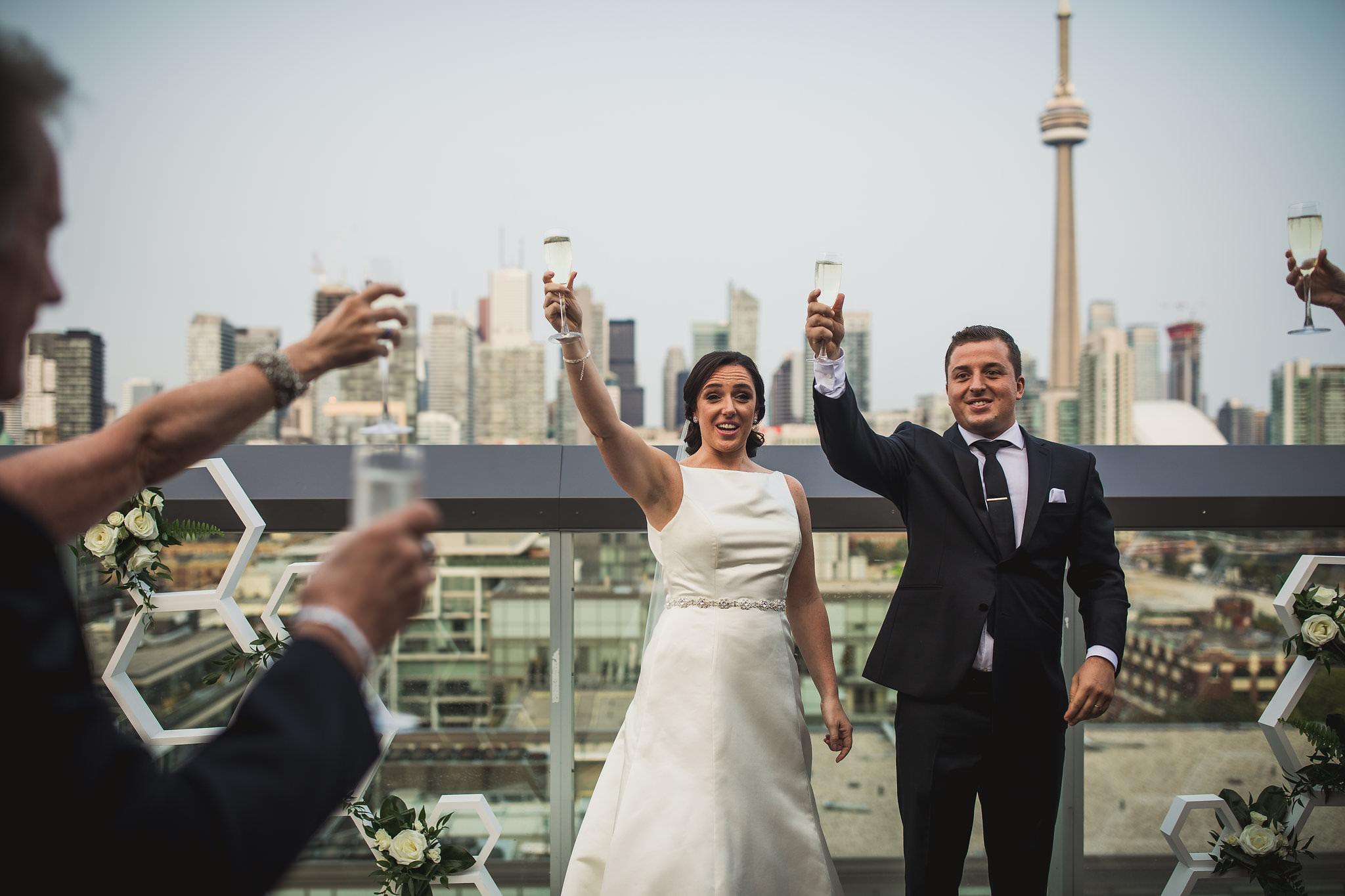 rooftop wedding toronto