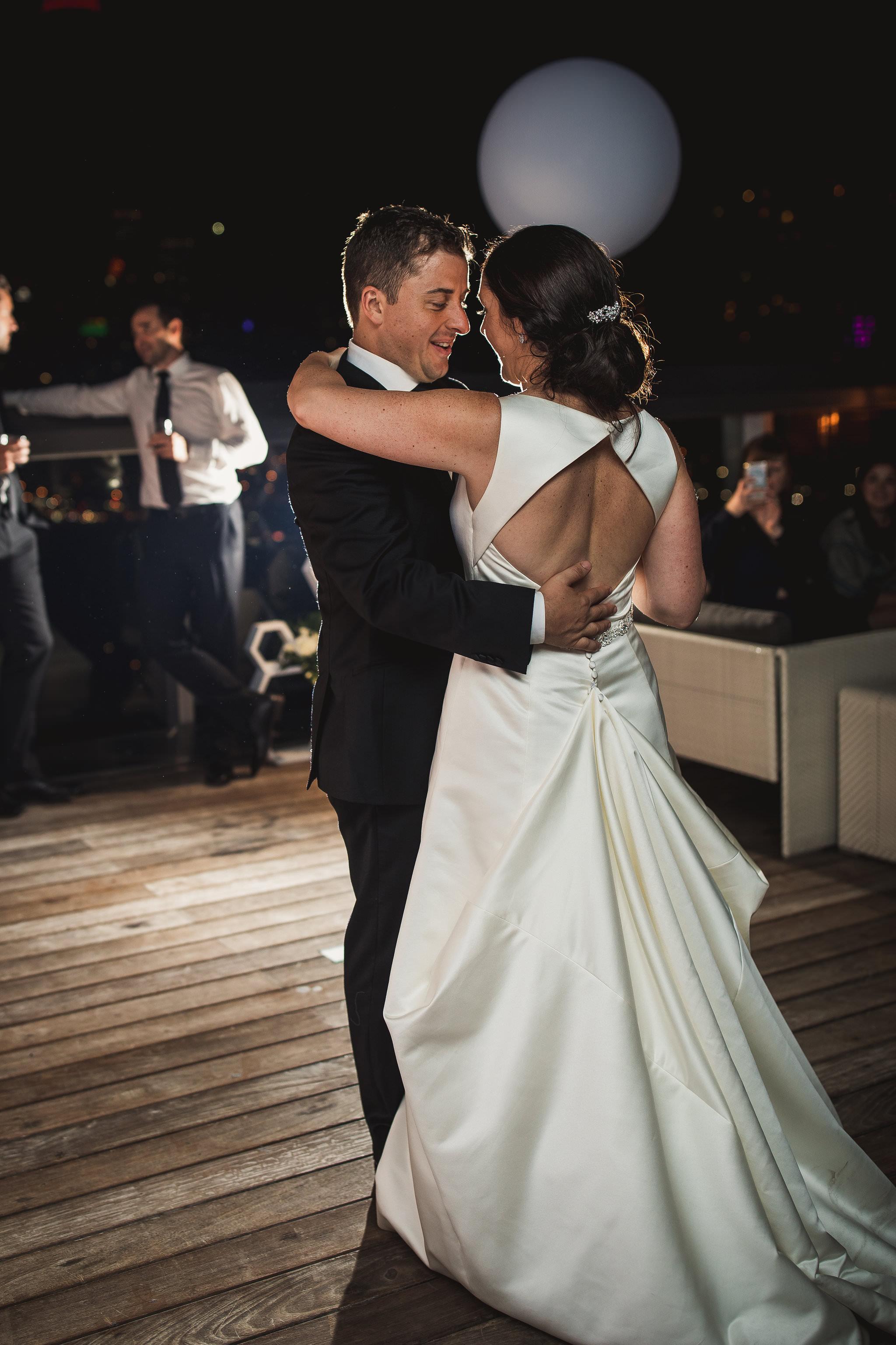 thompson hotel wedding photos