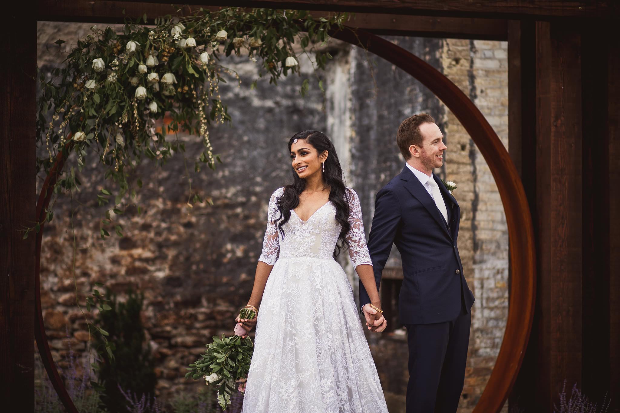 foundry building wedding photos