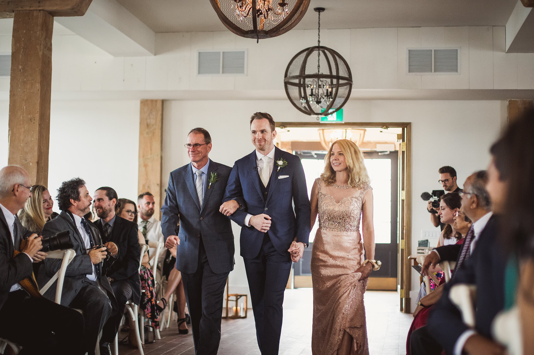 elora mill wedding ceremony