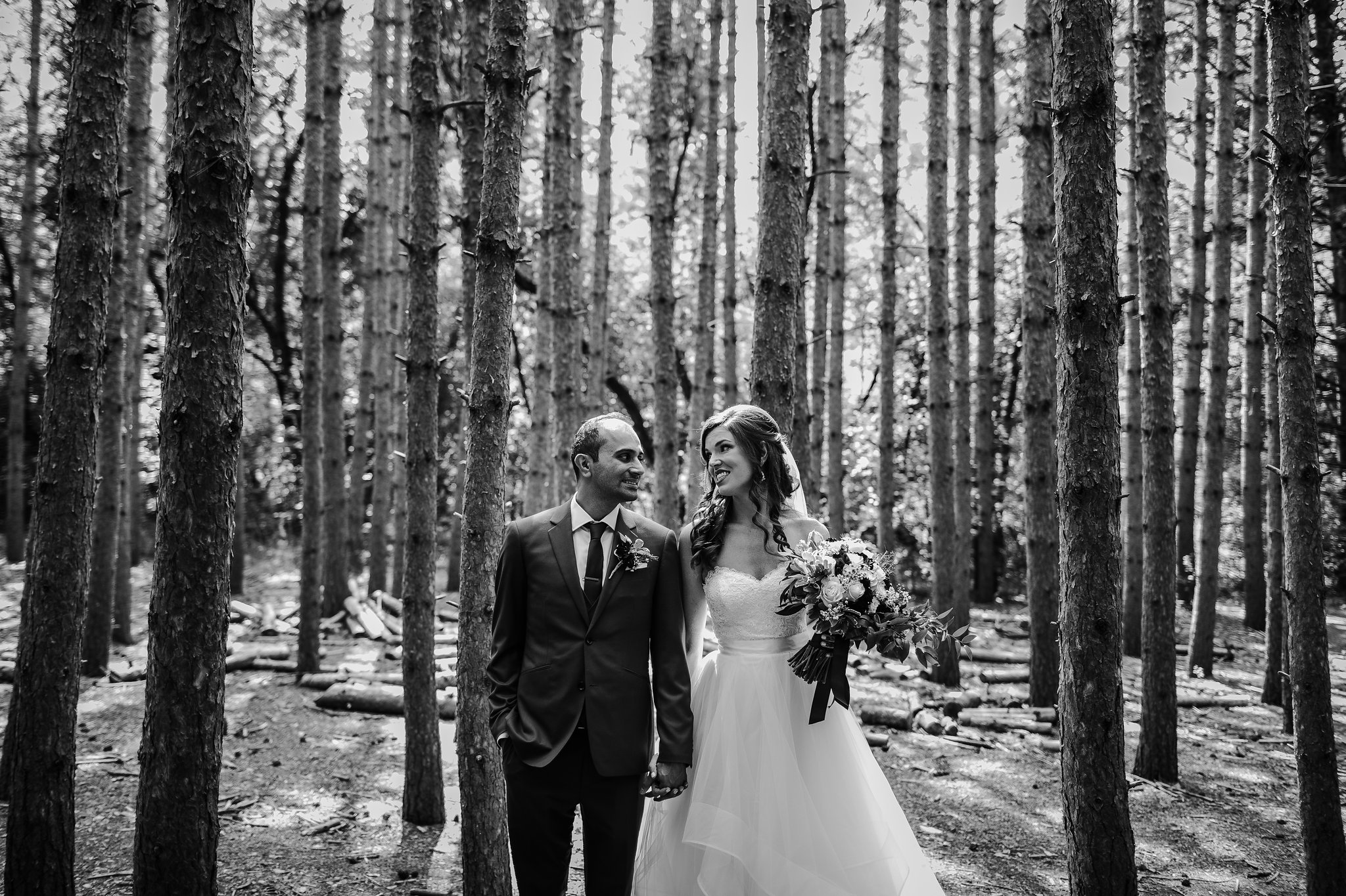kortright centre wedding photos