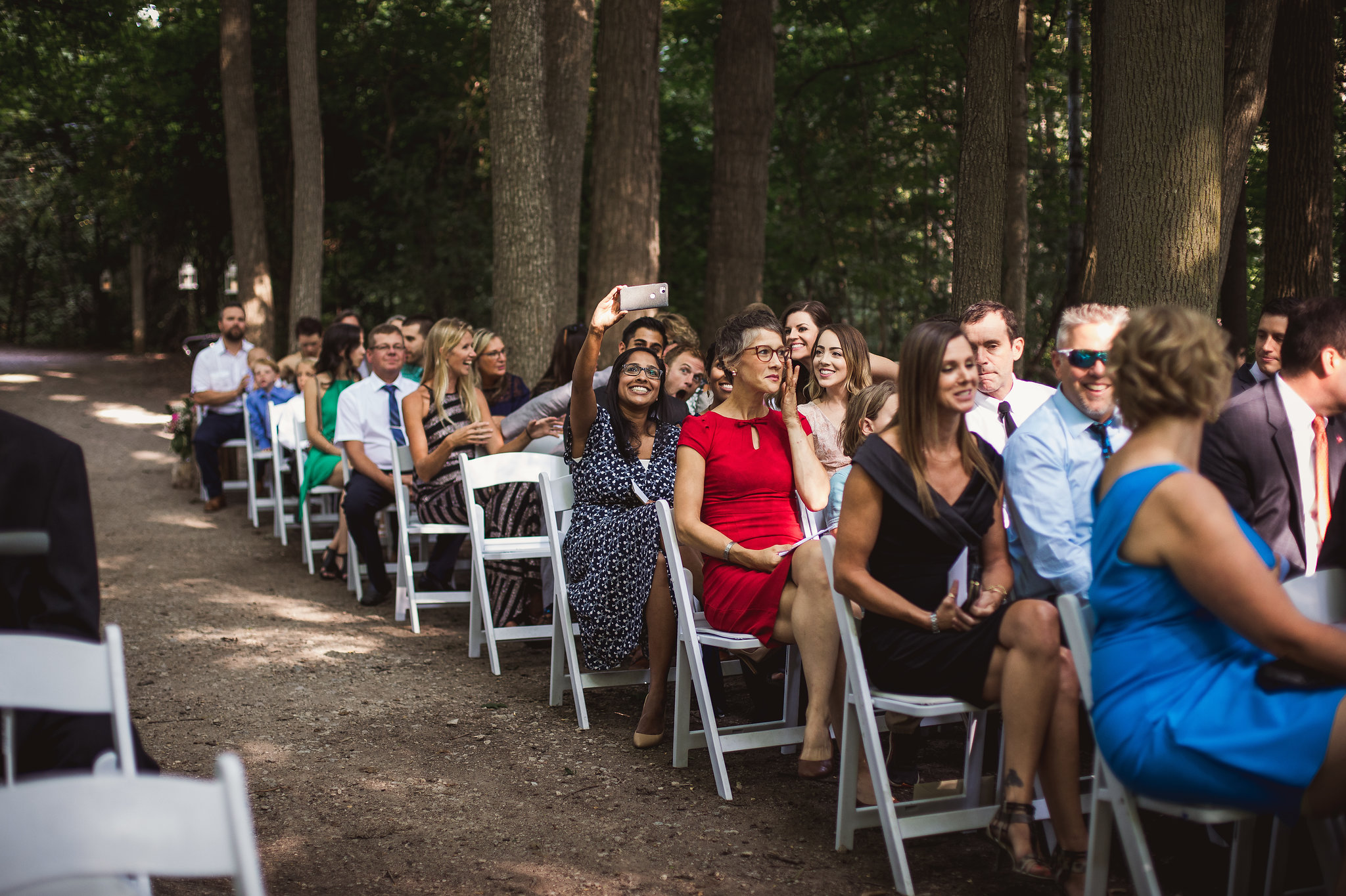 kortright center outdoor ceremony