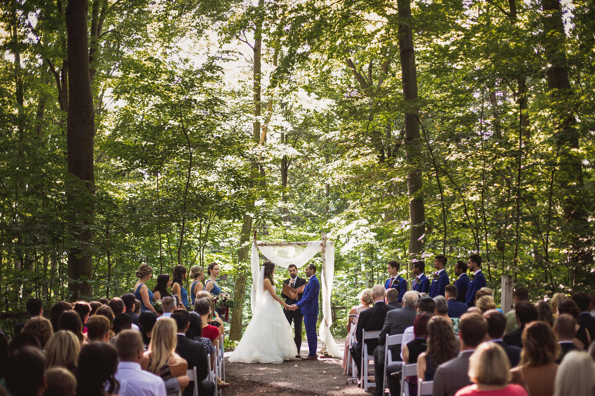 kortright centre forest gallery wedding