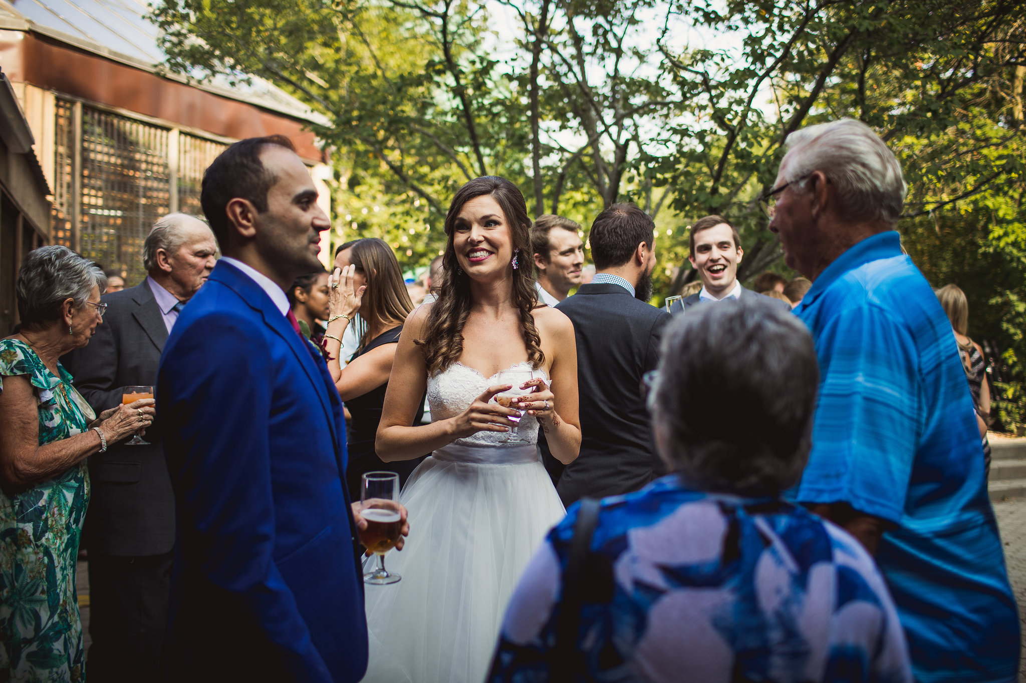 kortright center outdoor wedding