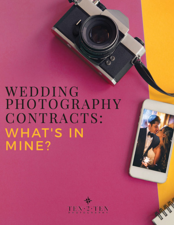 whats in my photography contract