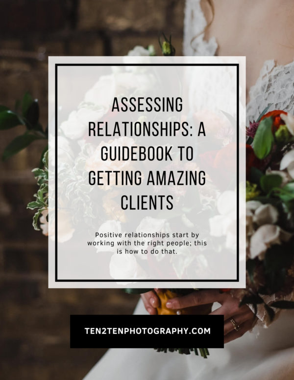 Discovery Call Workbook  Assessing Relationships - Mega Bundle: Business Resources for Photographers