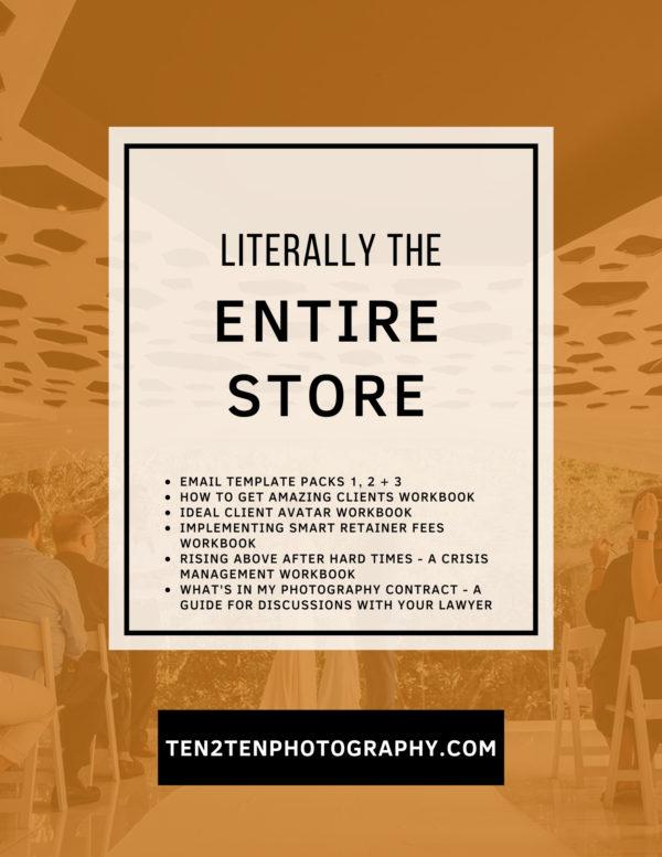 2 - Mega Bundle: Business Resources for Photographers