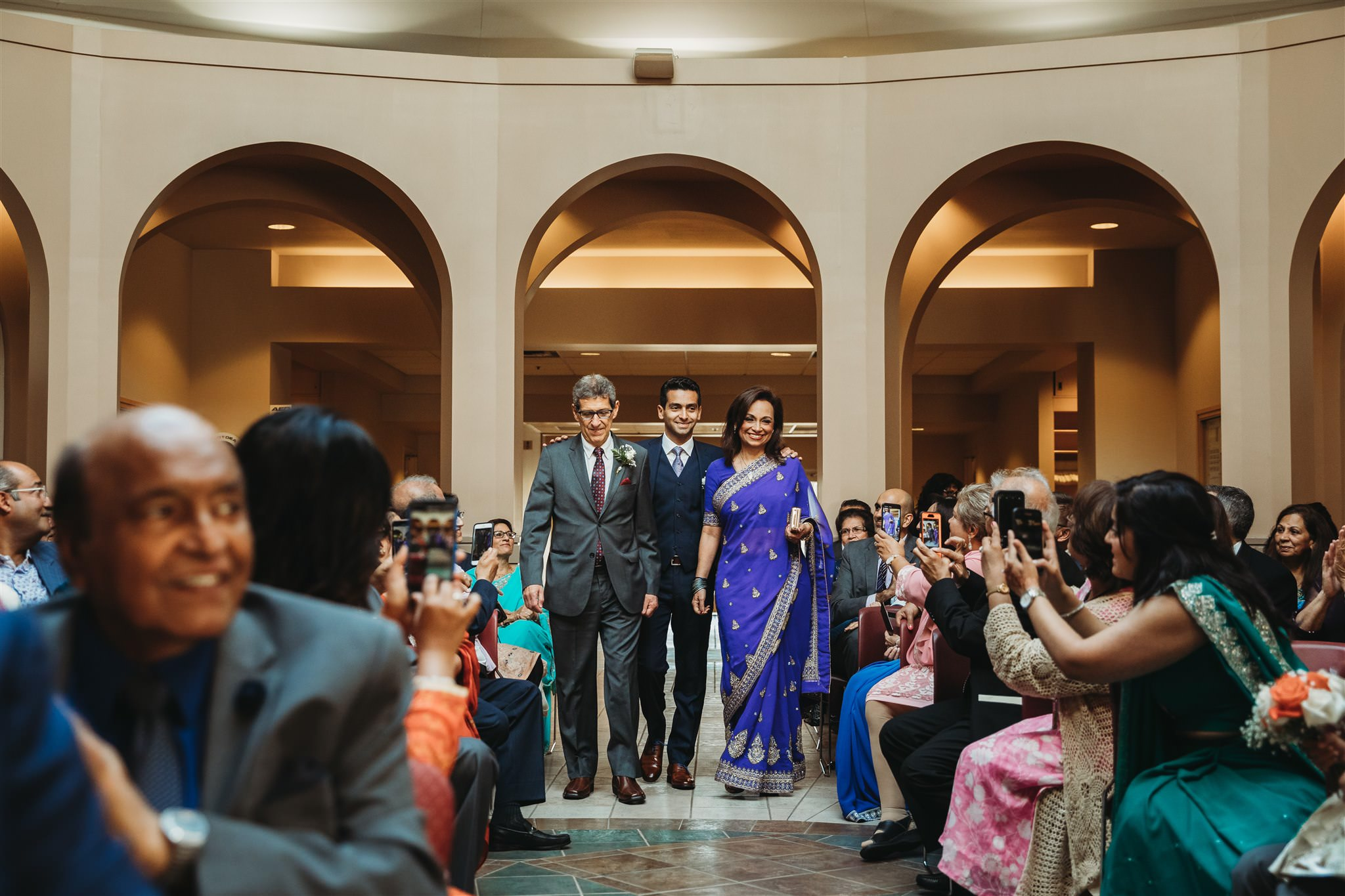 aga khan museum wedding photos