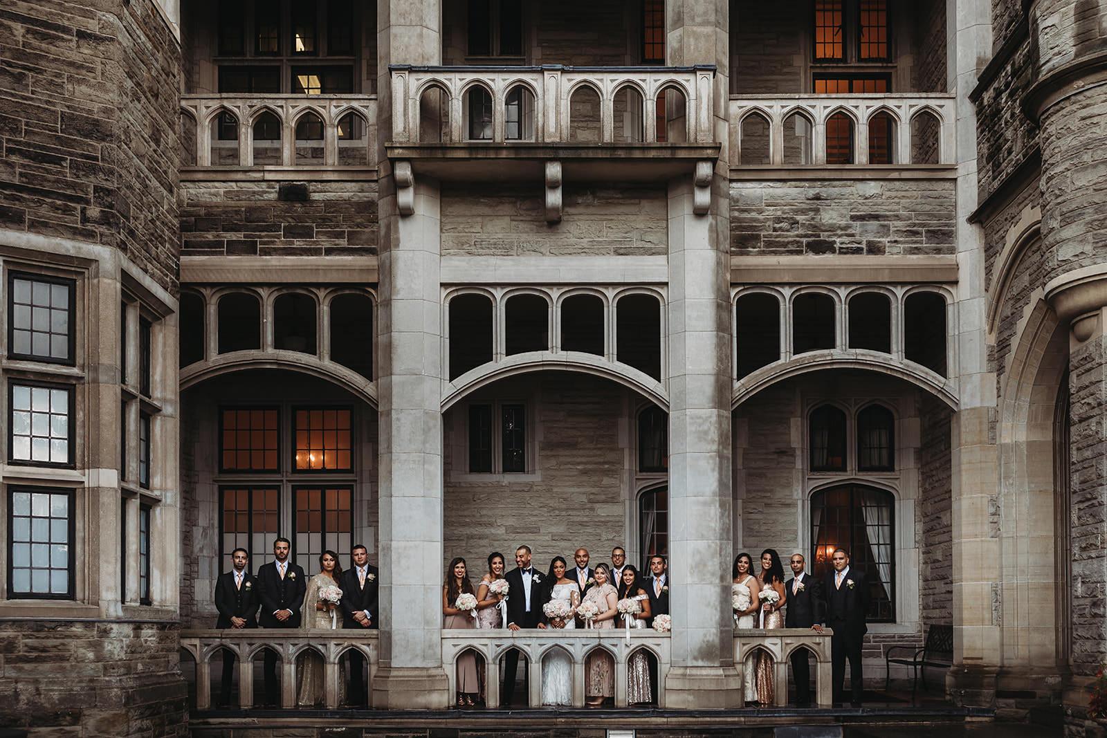 casa loma wedding photos