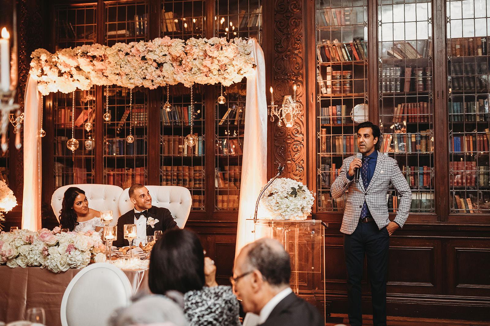 casa loma library wedding