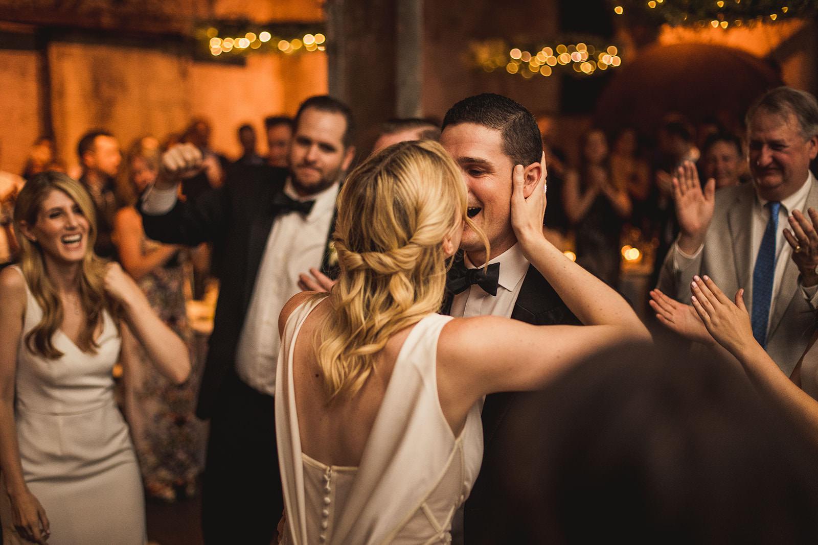 fermenting cellar wedding reception photos