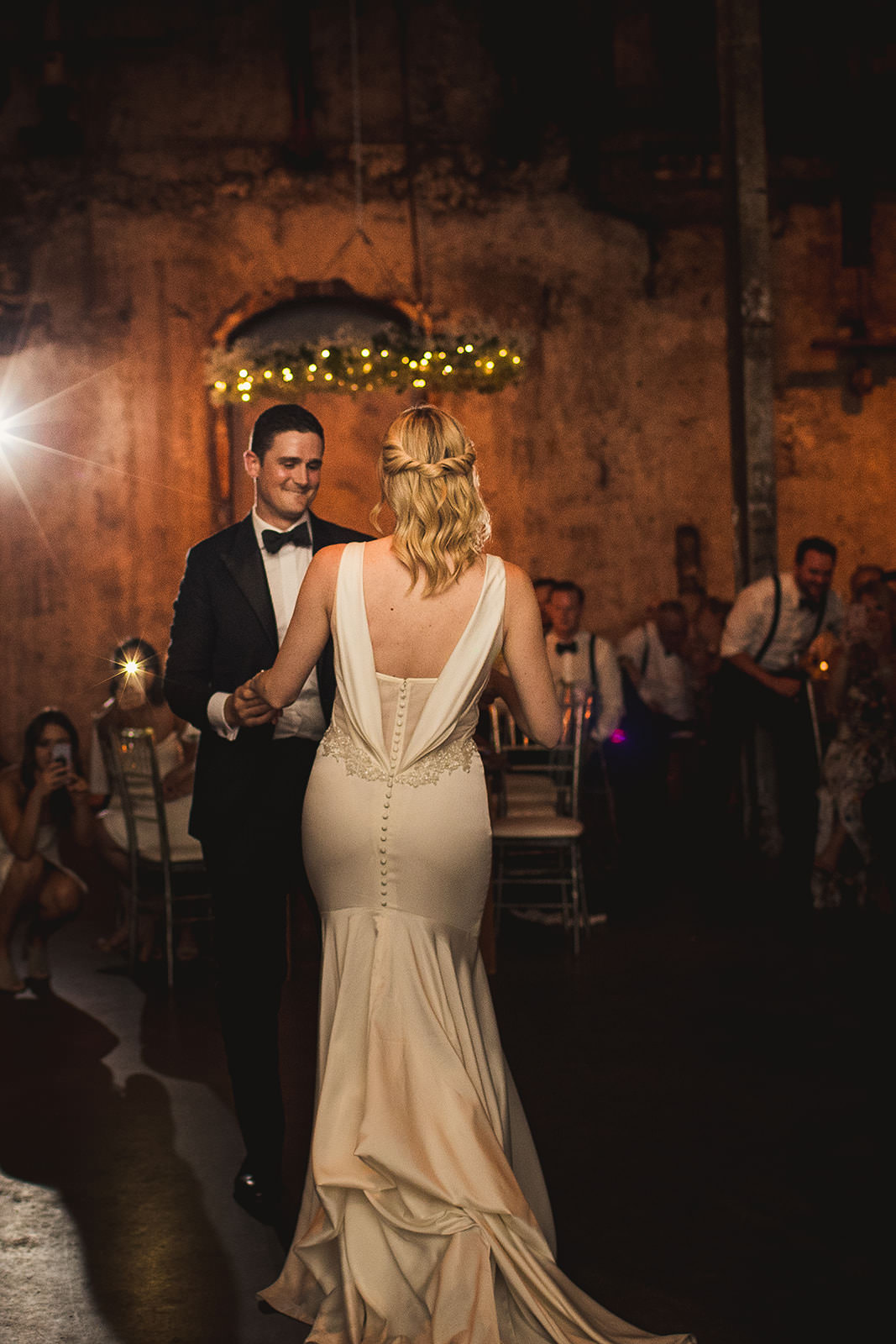 fermenting cellar wedding