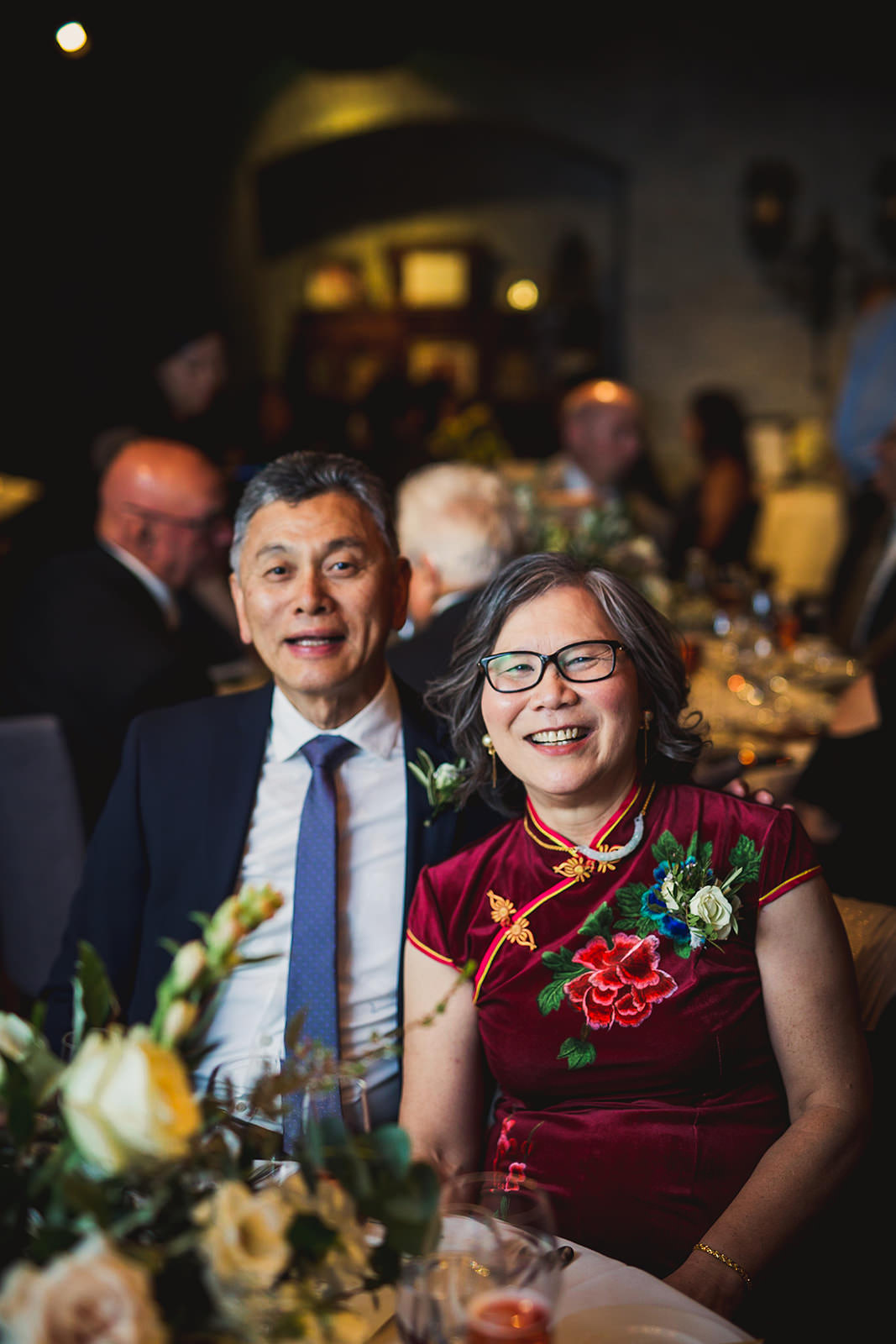 george restaurant wedding