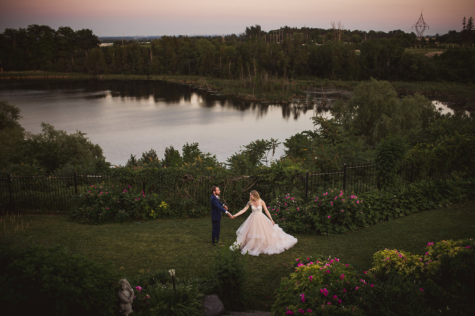 Waterfront wedding venues Ontario