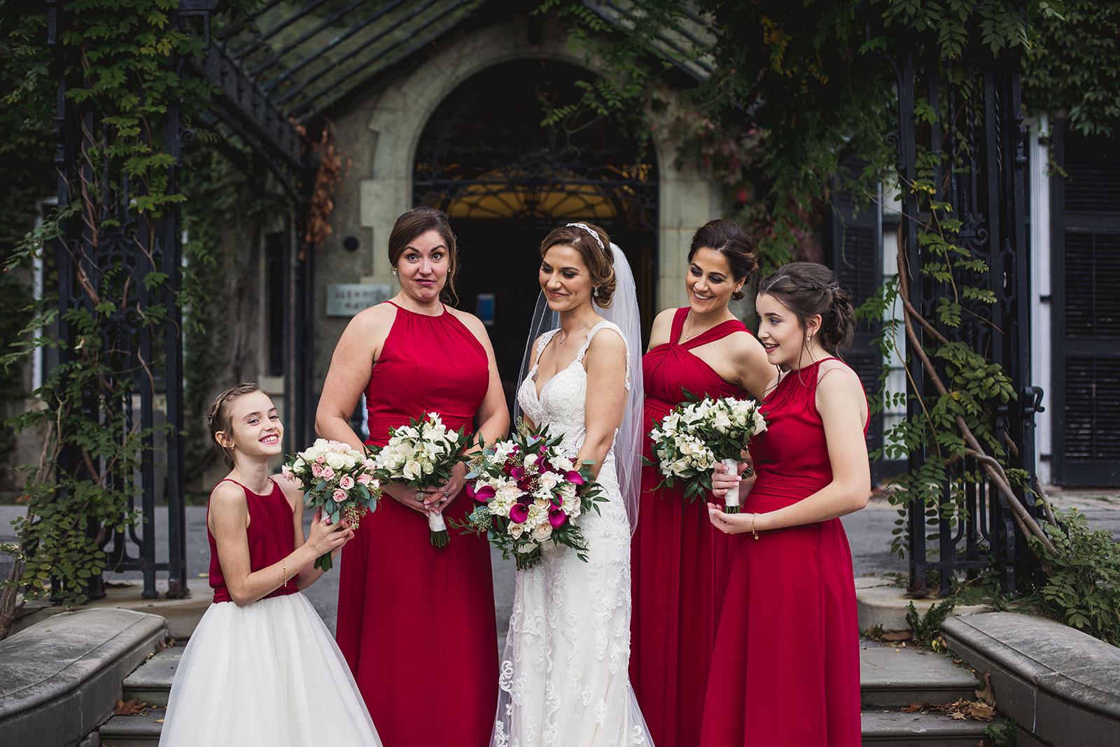 glendon college wedding photos