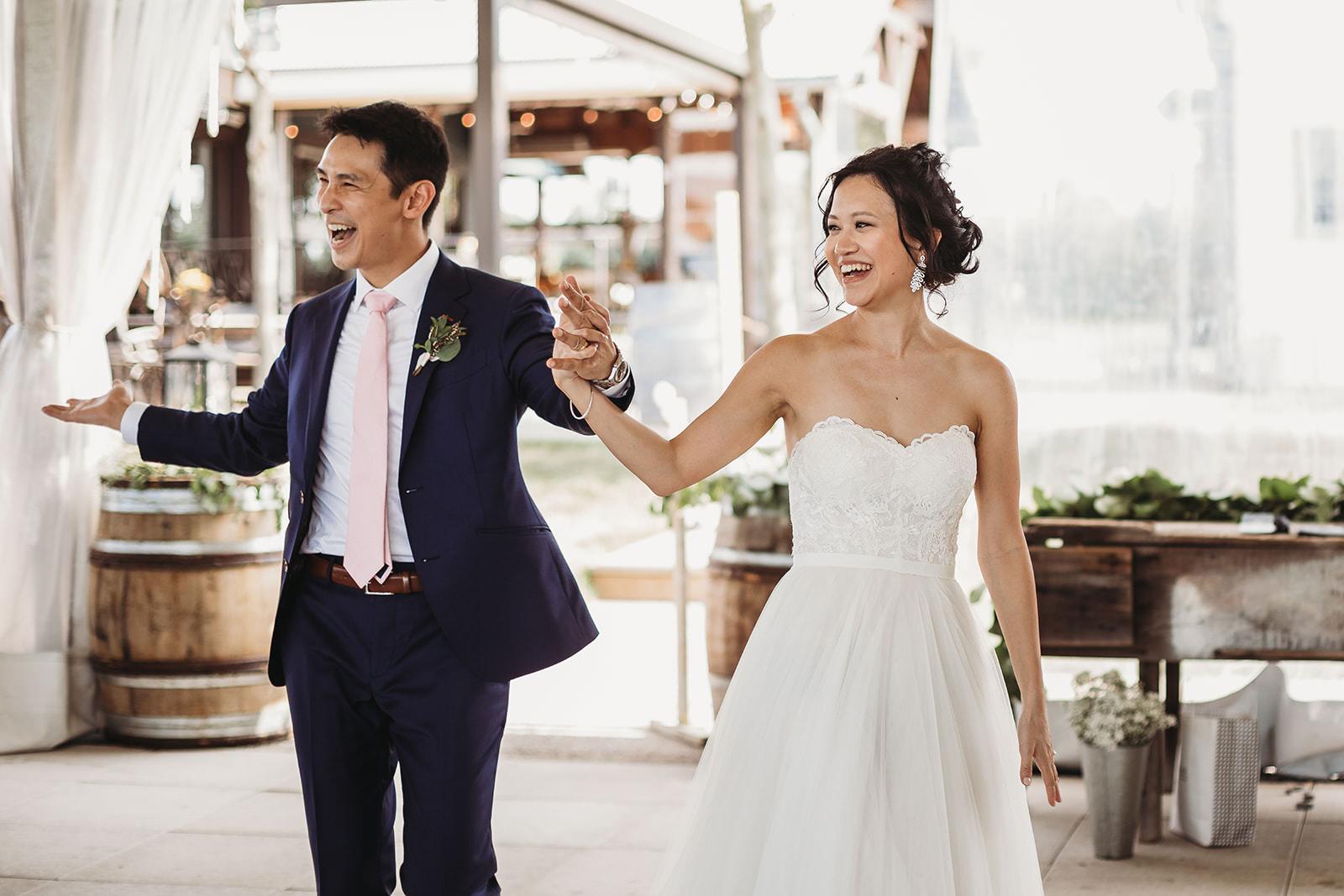 Ravine Vineyard wedding photos