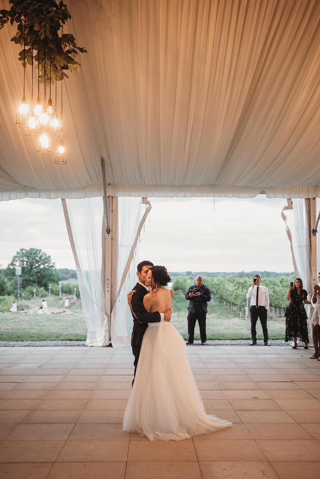 Vineyard Wedding at Ravine Winery