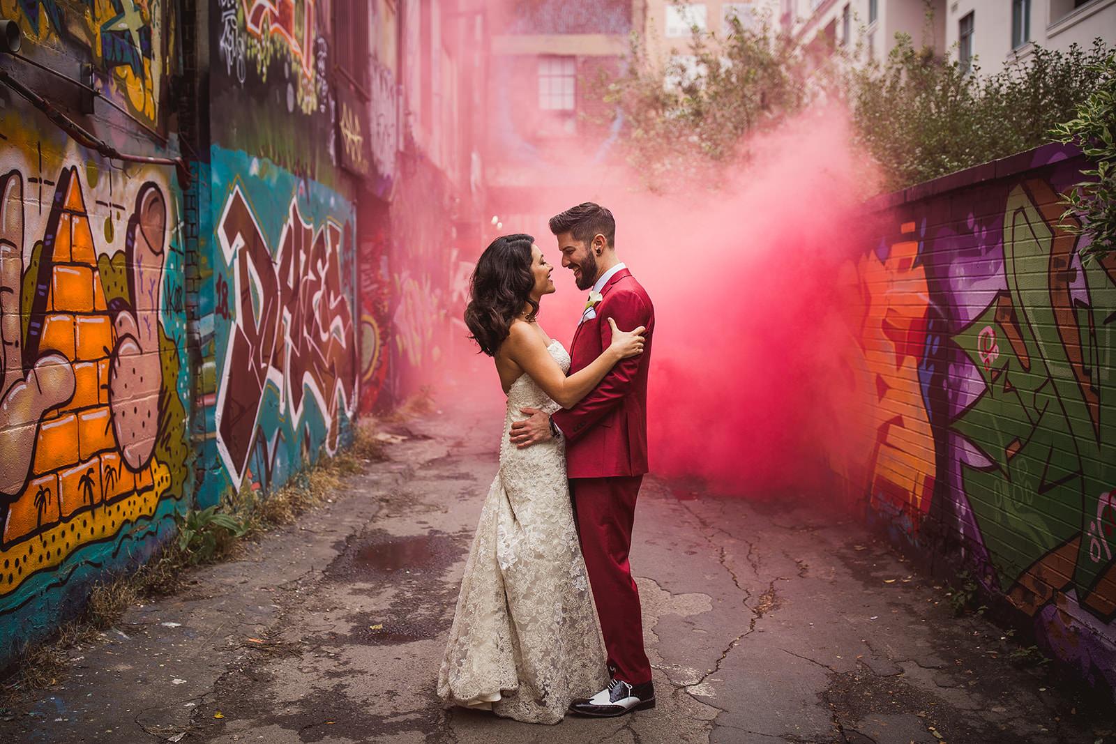 The Burroughes Building Wedding Photos