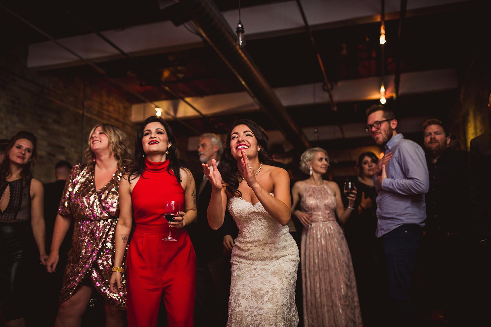 the burroughs Building wedding