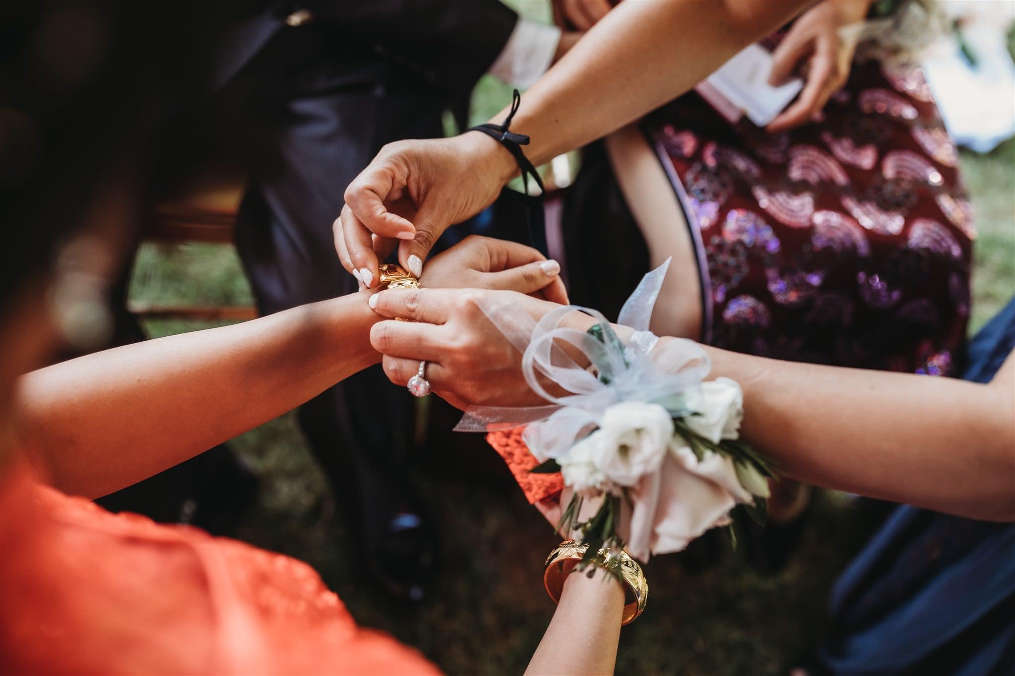 Richmond Green wedding photos, Toronto backyard wedding