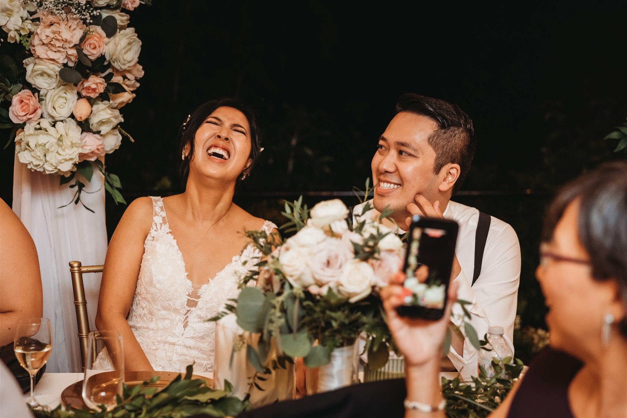 Rainy Day Backyard Wedding, what to do if it rains on your wedding day